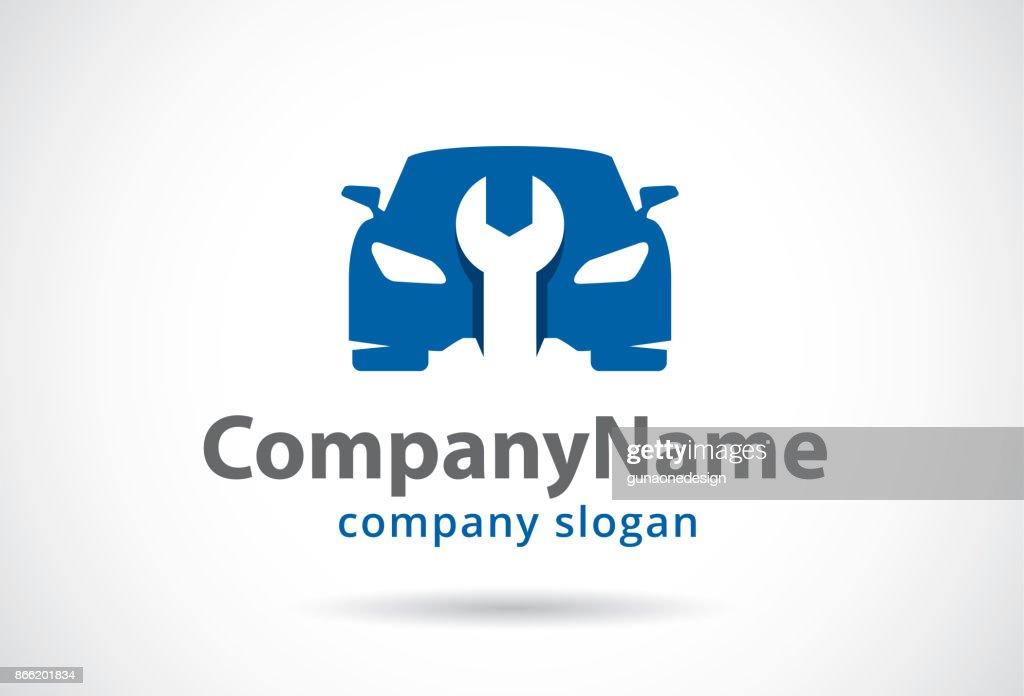 Car Service Symbol Template Design Vector, Emblem, Design Concept, Creative Symbol, Icon