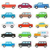 car set. automobile collection