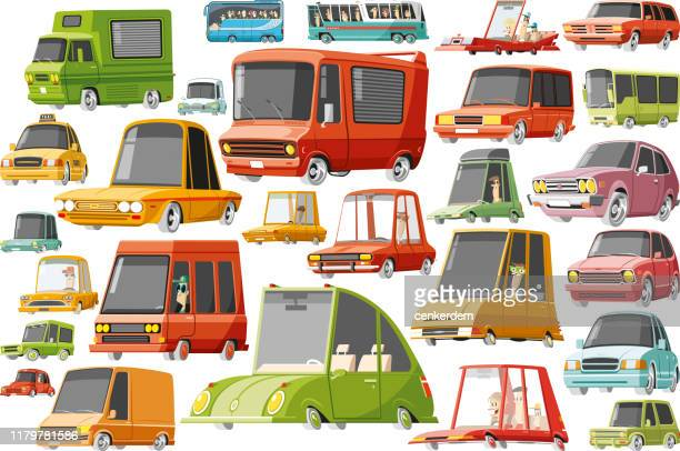 car set - car ownership stock illustrations, clip art, cartoons, & icons