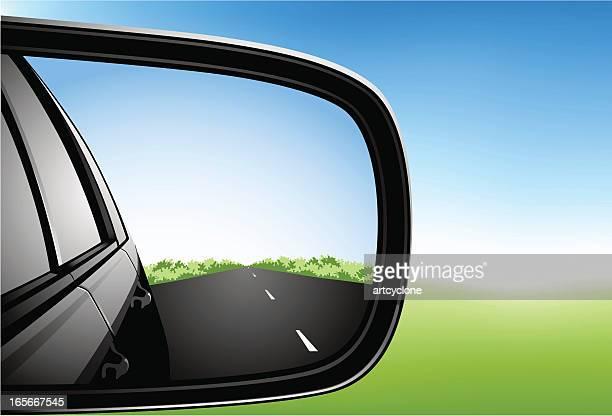 カーサイドの鏡