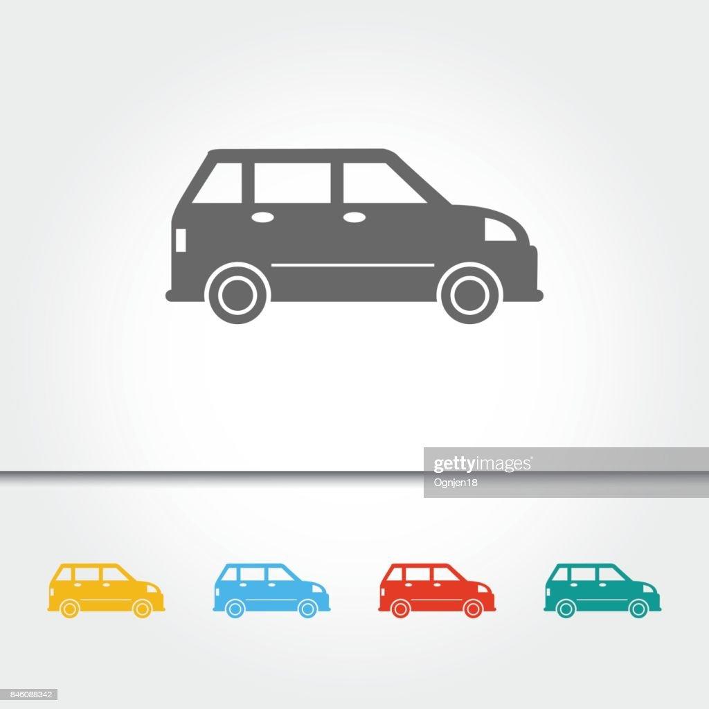 Car Single Icon Vector Illustration