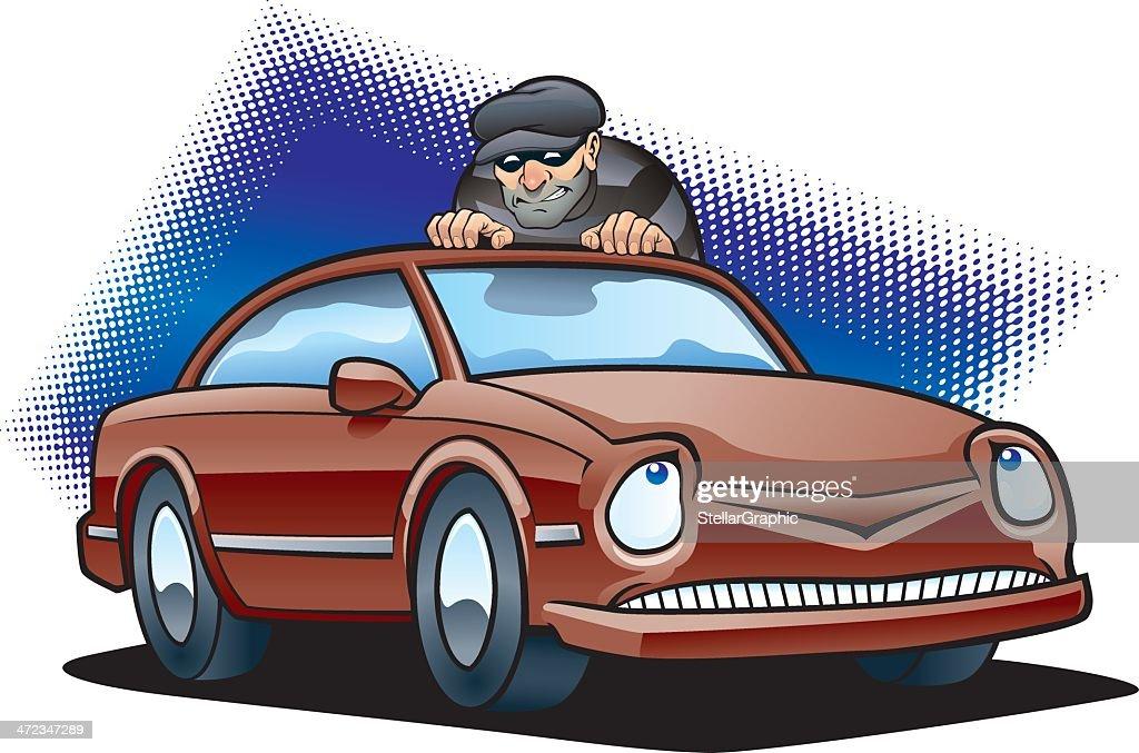 Car Thief : stock illustration