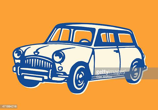 car - small stock illustrations
