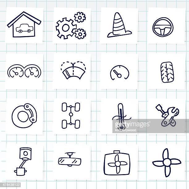 car - metric system stock illustrations