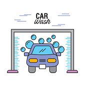 car wash clear auto shampoo water bubble
