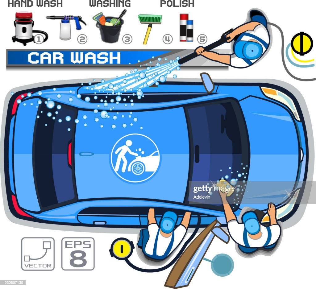 Car wash service vector art getty images car wash service malvernweather Images