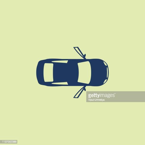 car with open door