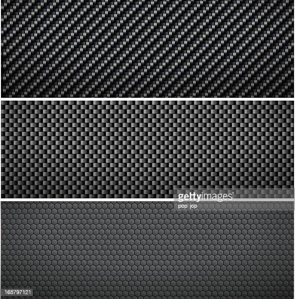 carbon background - macro stock illustrations