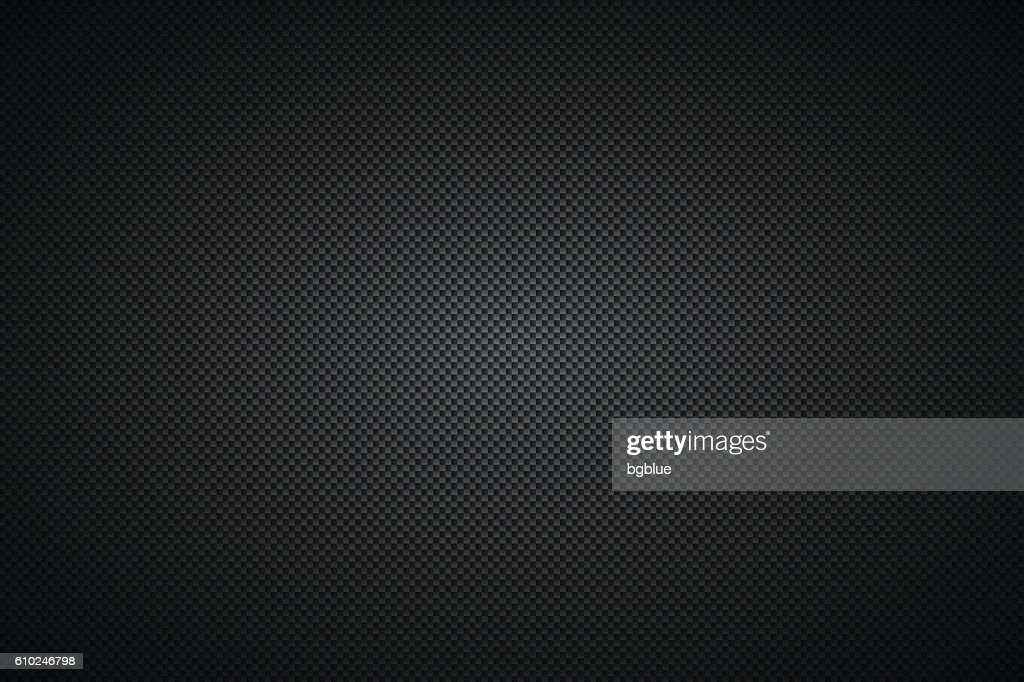 Carbon Fiber Texture - Background : stock illustration
