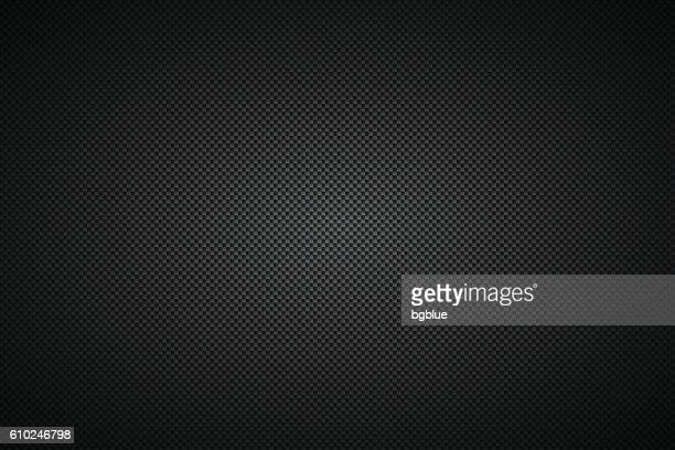 carbon fiber texture - background - schwarz stock-grafiken, -clipart, -cartoons und -symbole