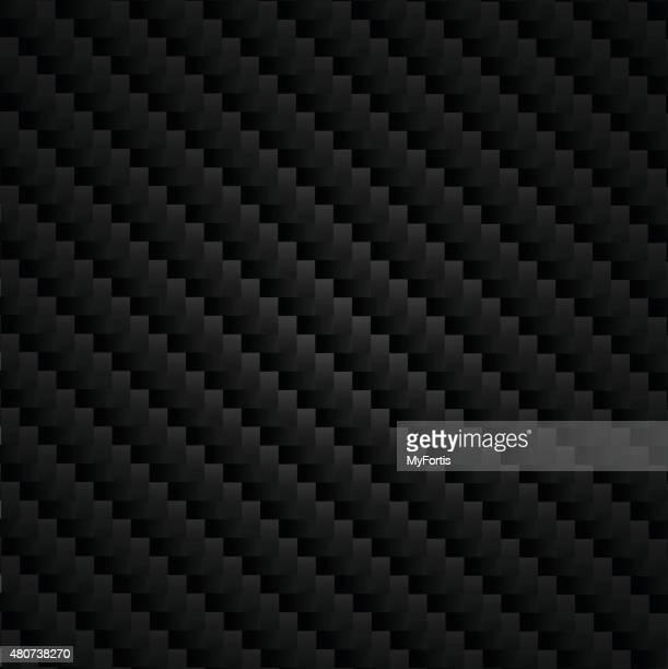carbon kevlar super black - fiber stock illustrations, clip art, cartoons, & icons