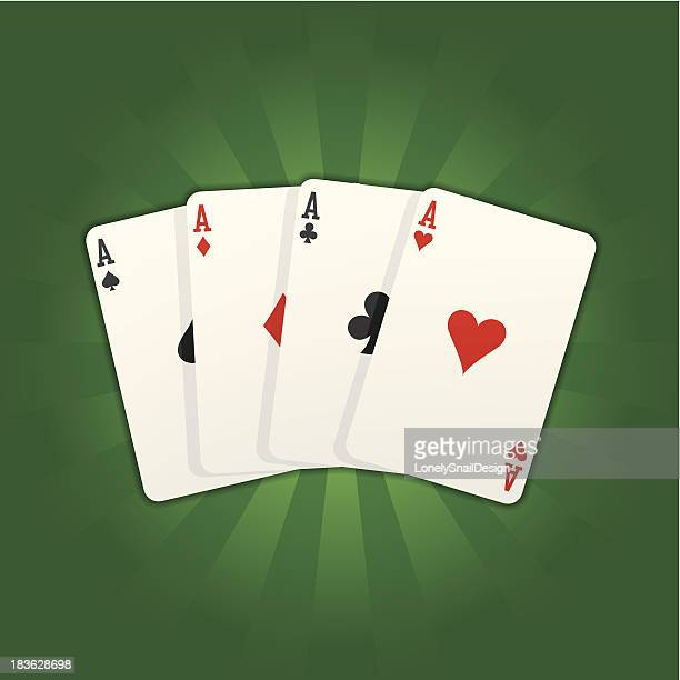 card aces rays - ace stock illustrations, clip art, cartoons, & icons