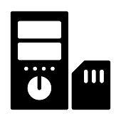 SD   card  chip