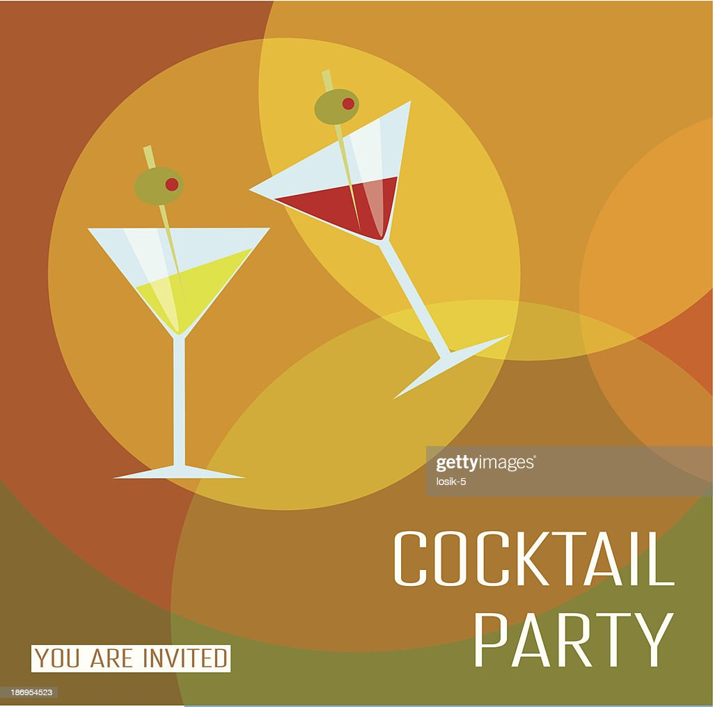 Card cocktail party.