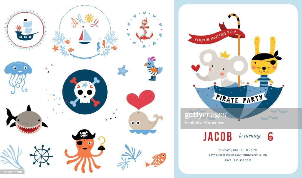 Card Design and Elements Set_10