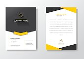 Card Design, Modern Creative Business Card Front and Back Template