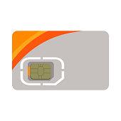 SIM card illustration