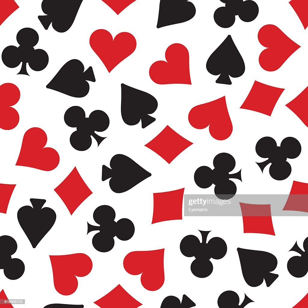 Card Suits Background : Vector Art