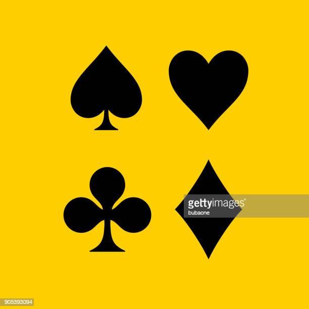 Card Symbols Set.
