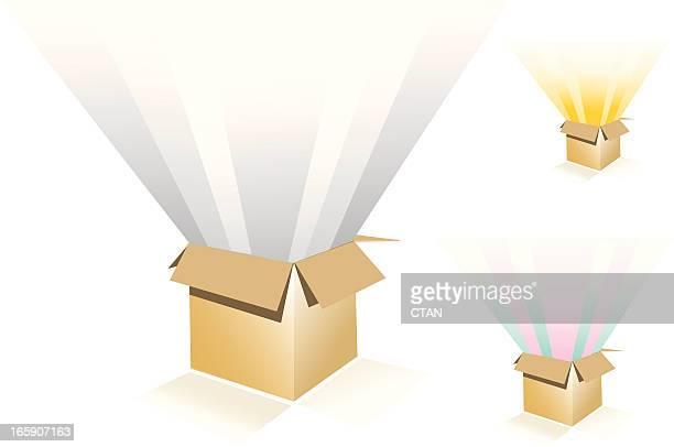 Cardboard box collection