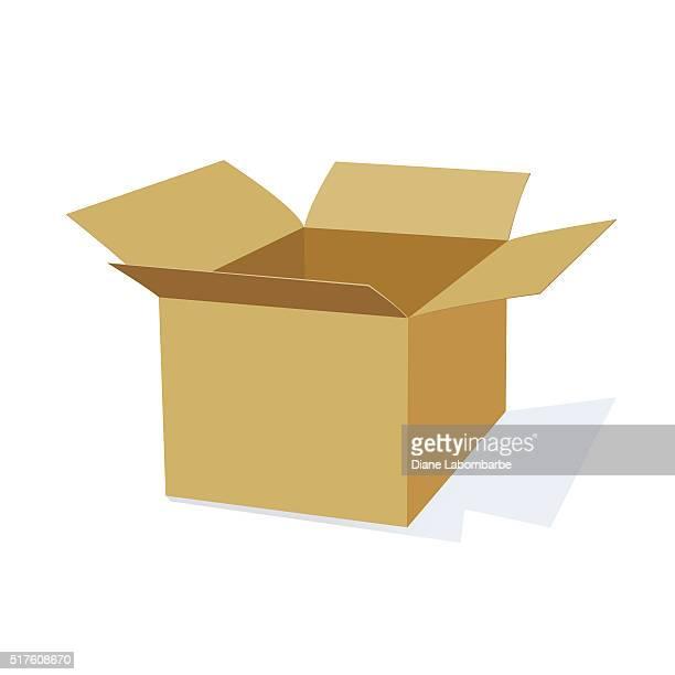 3D Cardboard Packing Box