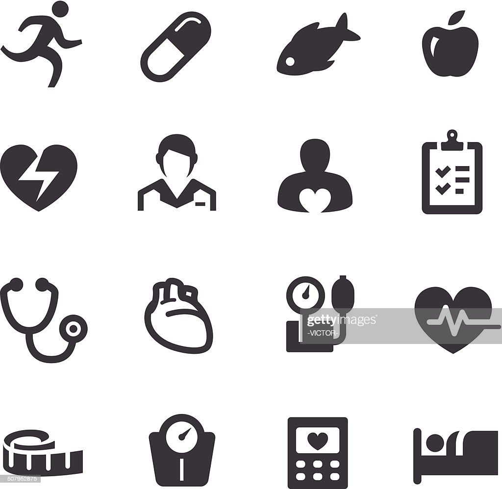 Cardiology Icons - Acme Series