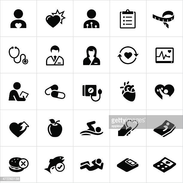 Cardiology Medicine Icons