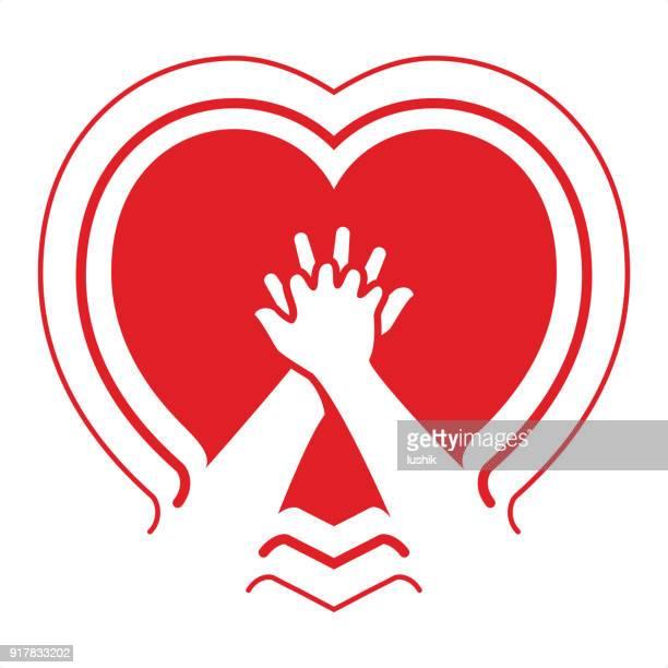 Cardiopulmonary resuscitation symbol
