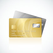 VIP Cards gold and silver