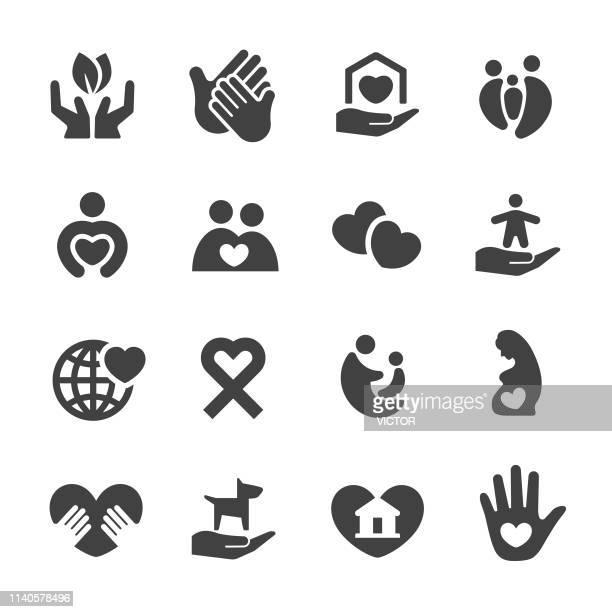 ケアアイコンアクメシリーズ - ホスピス点のイラスト素材/クリップアート素材/マンガ素材/アイコン素材