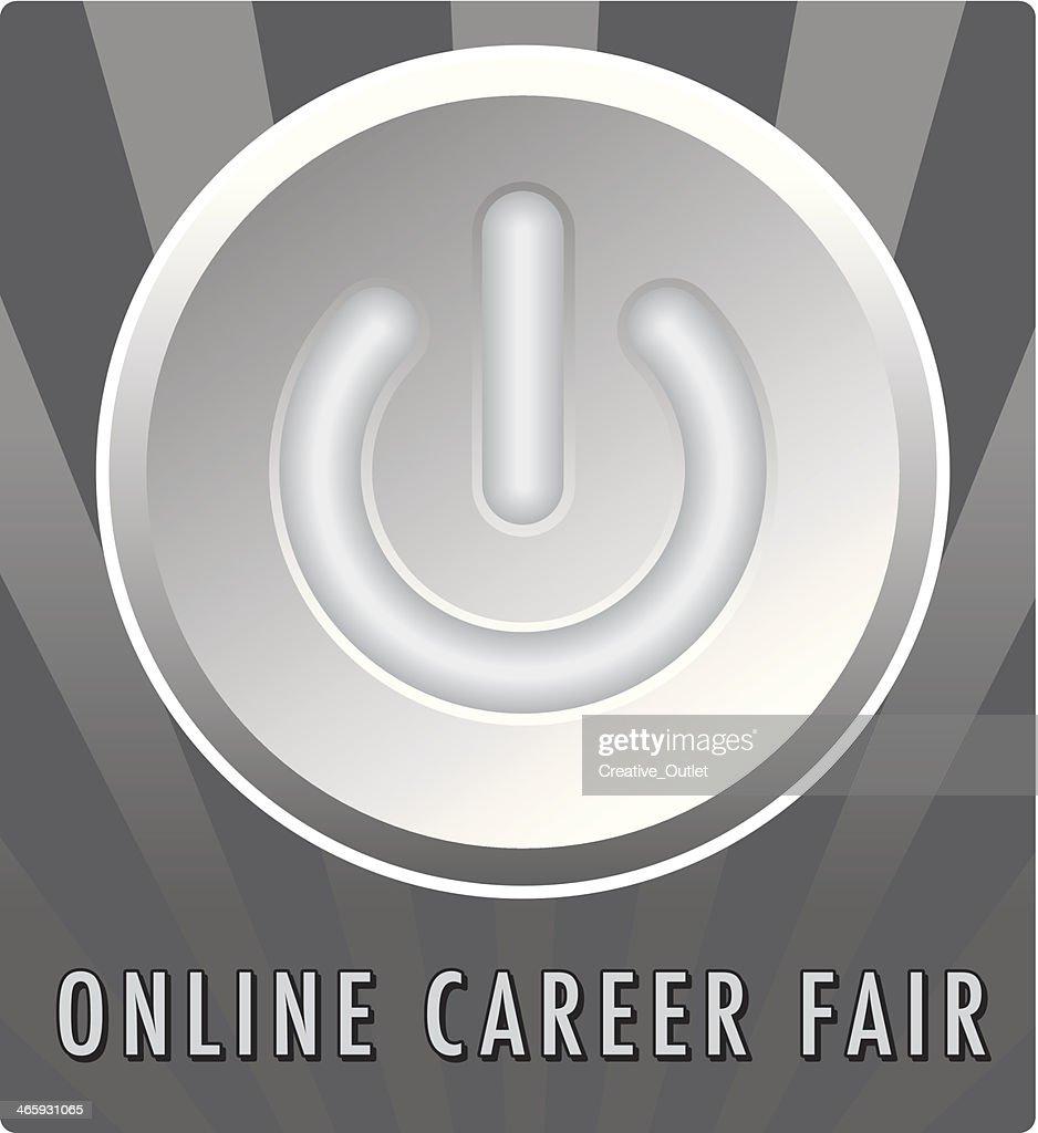 Career Fair Button