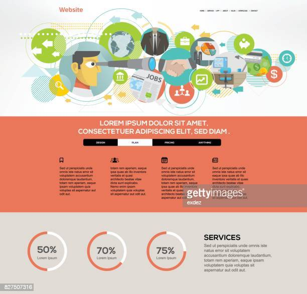 Career website template