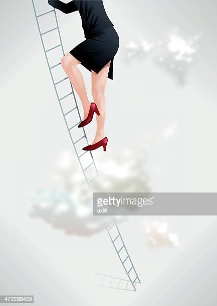 ilustraciones, imágenes clip art, dibujos animados e iconos de stock de mujer profesional - tacones altos