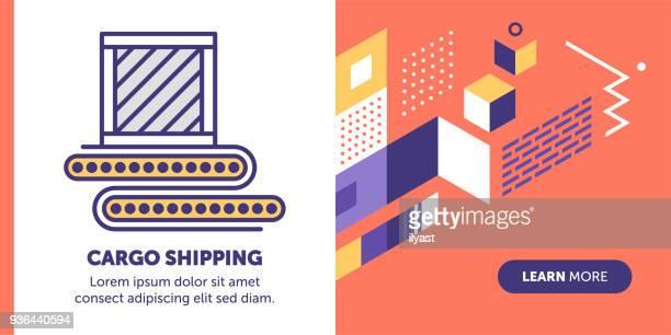 Cargo Shipping Banner