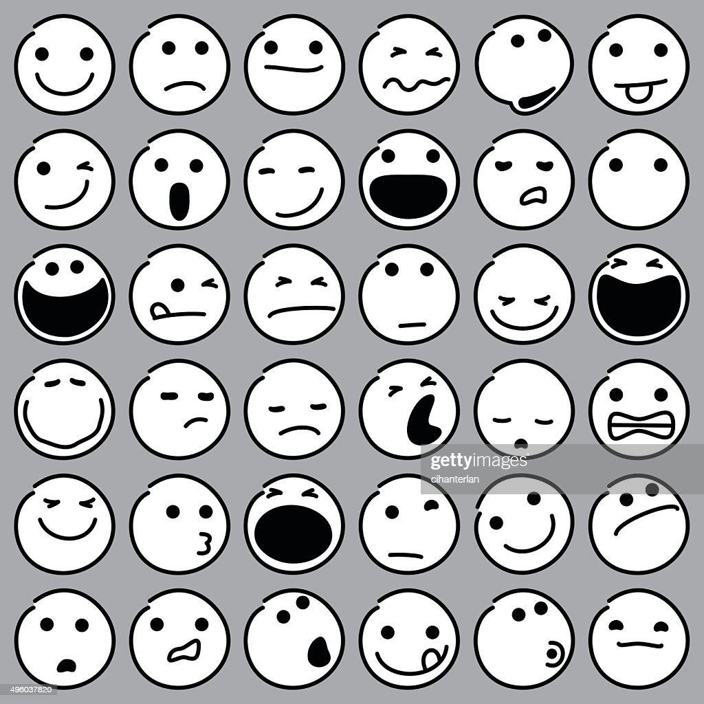 Caricature Emoticons