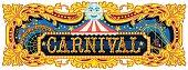 Carnival Banner Circus Template