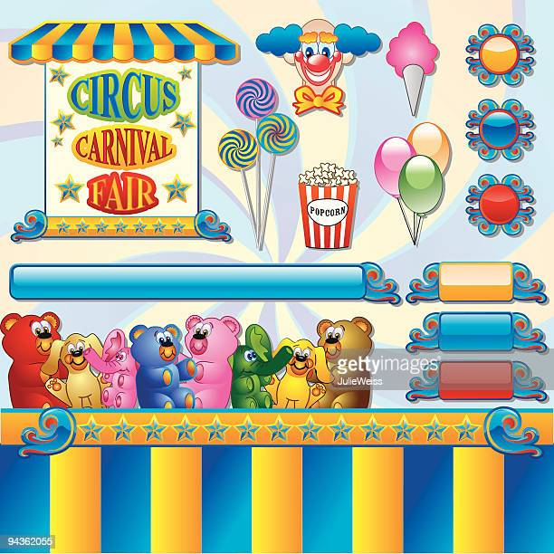 Carnival, Circus, and/or Fair Elements