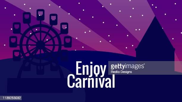 Carnival Fun Fair Background