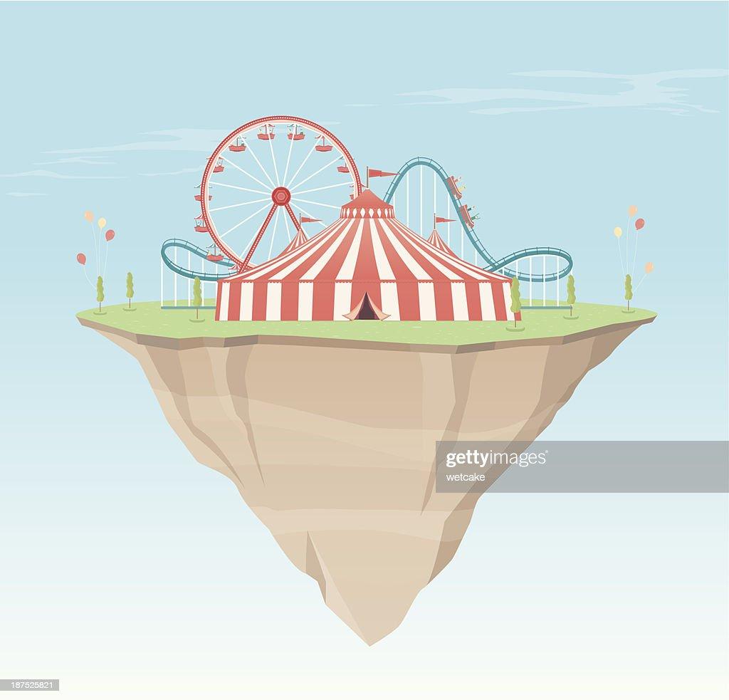Carnival Island : stock illustration