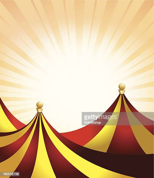 carnival or entertainment tent background - circus tent stock illustrations, clip art, cartoons, & icons
