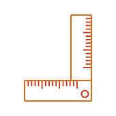 carpenter square  vector illustratio
