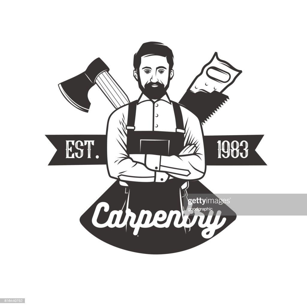 Carpentry icon templates