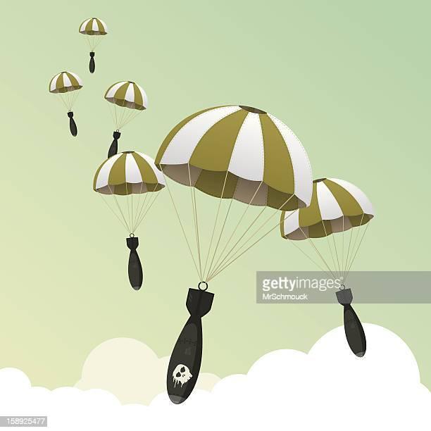 ilustraciones, imágenes clip art, dibujos animados e iconos de stock de alfombra bombardeos. - bomba