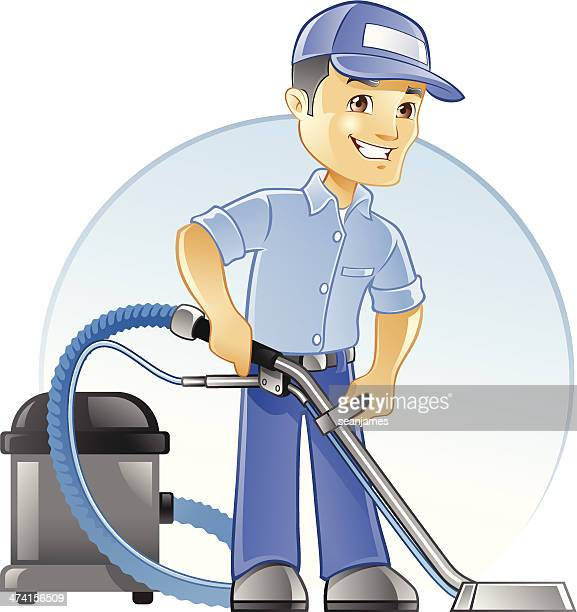 Carpet Cleaning Professional with Vacuum