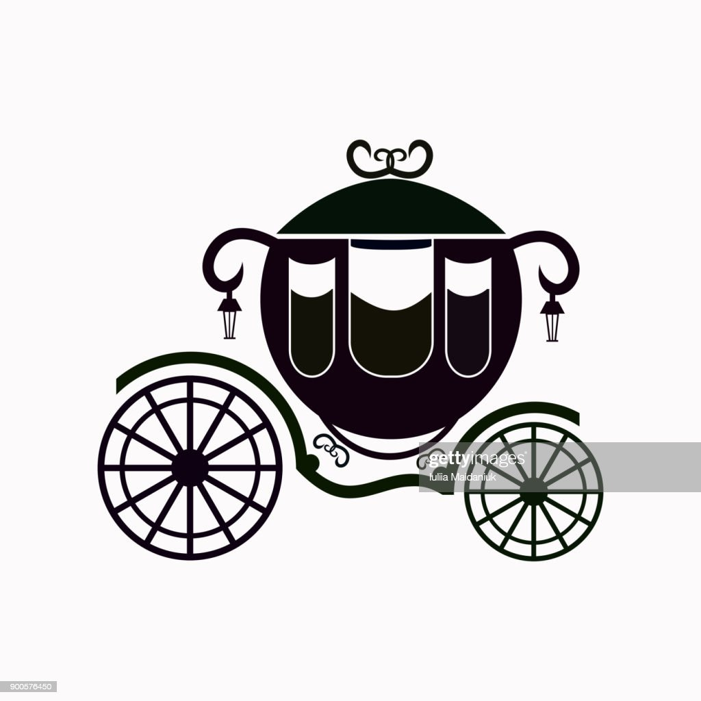Carriage vector  icon.