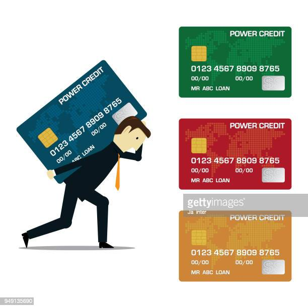 Carrying credit card set