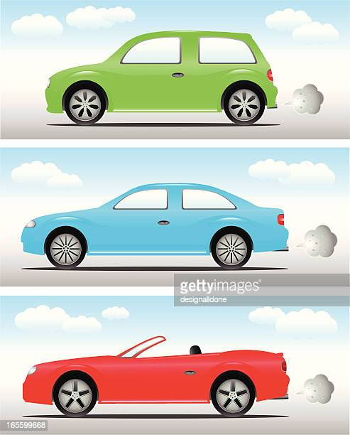 Cars: Hatchback, Saloon & Convertible