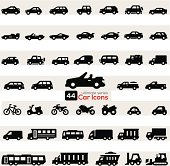 Cars Icon Set