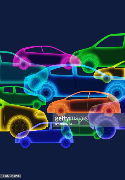 cars or automobiles - hatchback stock illustrations, clip art, cartoons, & icons