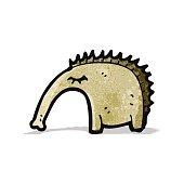 cartoon aardvark
